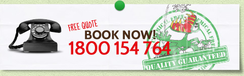 Free quote Book Now! 1800 154 764